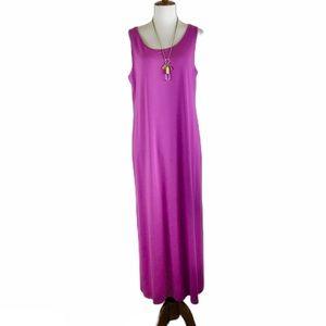 J Jill sleeveless maxi dress